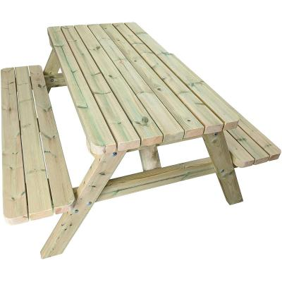 Mg Timber Products Mesa De Picnic De Madera