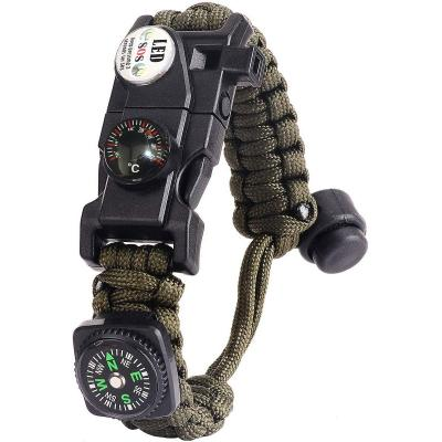Pulsera Paracord Supervivencia